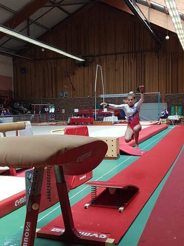 Championnat de France de Gym UGSEL à Paris