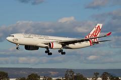 VH-XFH Virgin Australia Airbus A330-243