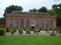 Buildings at Hanbury Hall