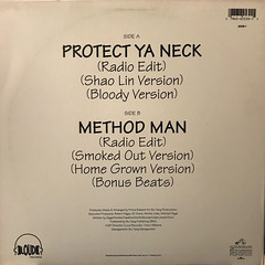 WU-TANG CLAN:PROTECT YA NECK(JACKET B)