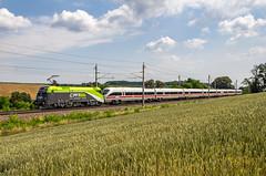 1016 016 und 411 019 bei Pengersdorf (18.6.18)