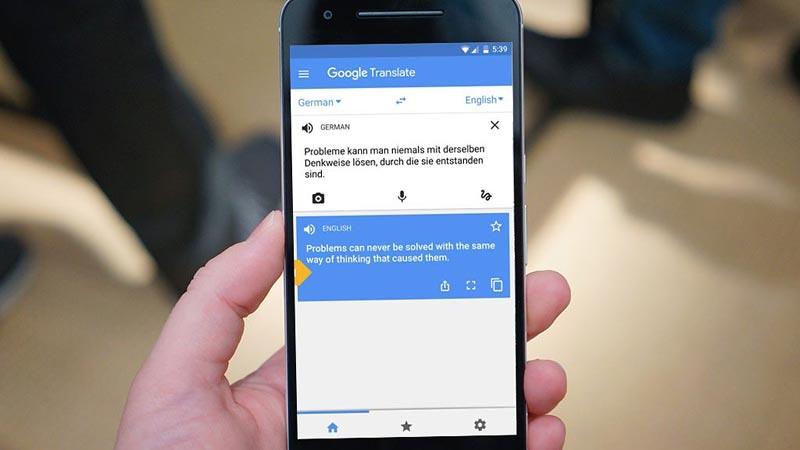 Google Terjemahan.