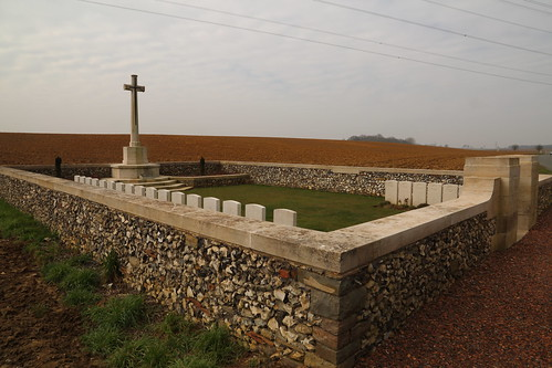 OWL TRENCH CEMETERY, HEBUTERNE.