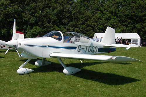 G-TOGO Vans RV-6 (PFA 181A-13447) Popham 080608