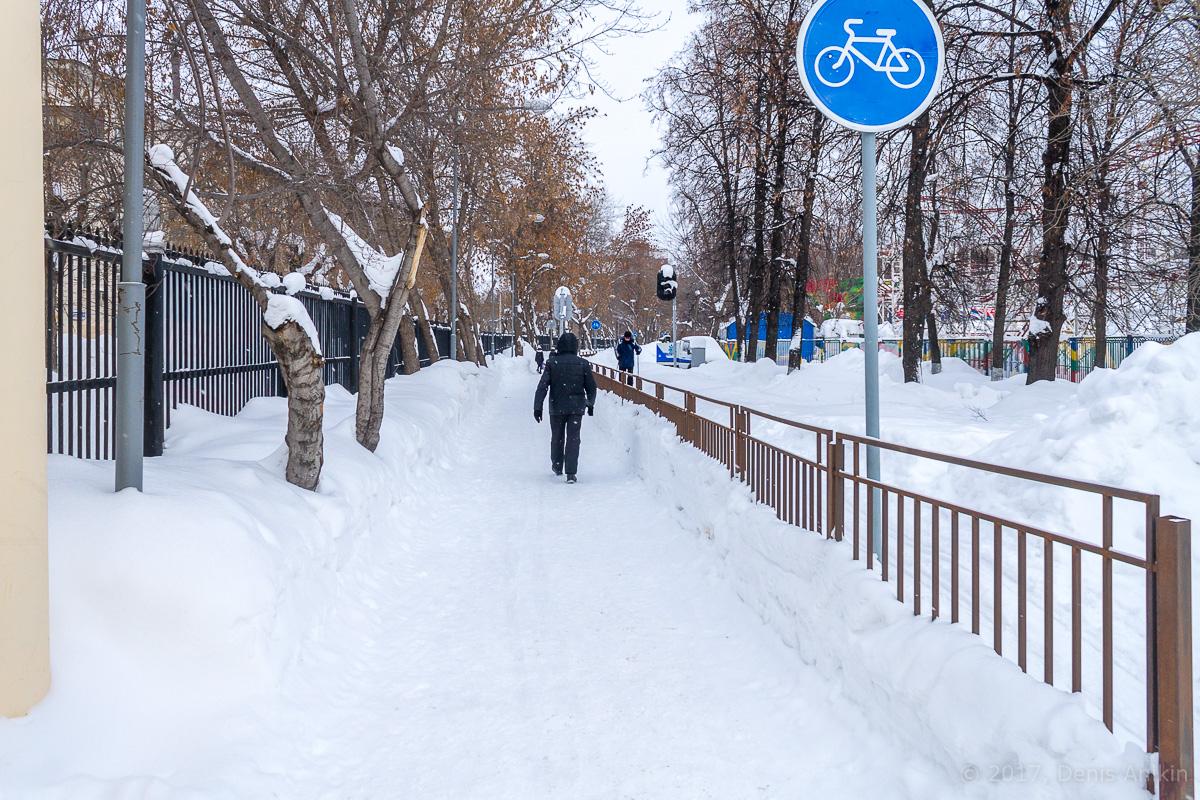 Центр Уфы зимой фото IMG_1129
