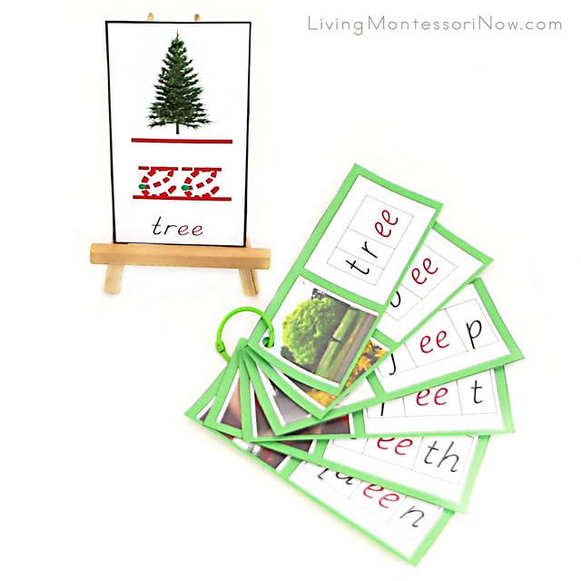 Tree ee Phonogram Card and Booklet