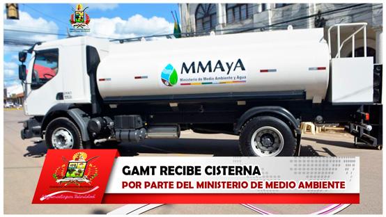 gamt-recibe-cisterna-por-parte-del-ministerio-de-medio-ambiente