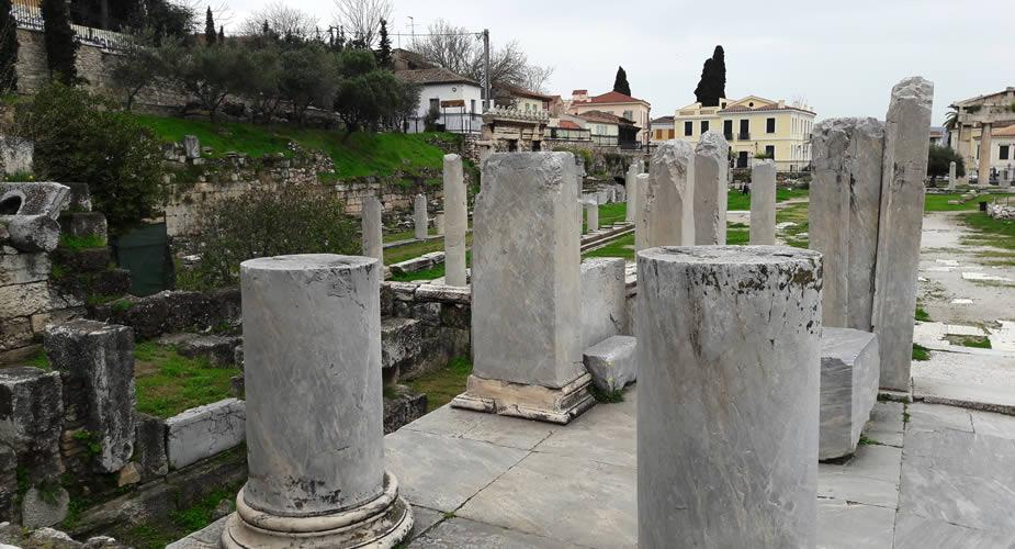 Romeinse Agora, bezienswaardigheden in Athene | Mooistestedentrips.nl