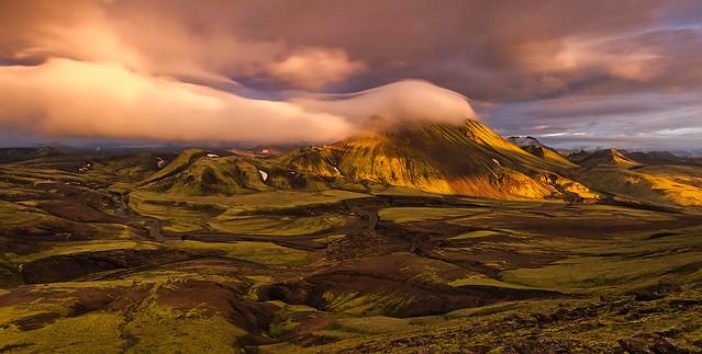 The fjallabak nature reserve, Iceland
