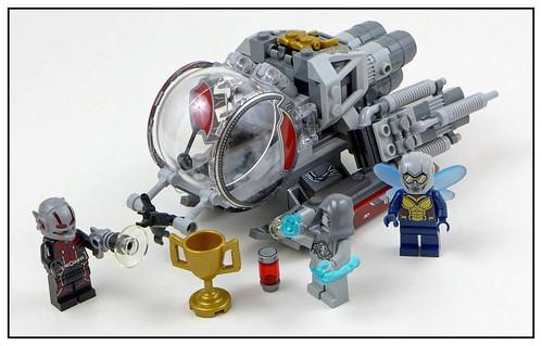 LEGO Marvel Superheroes 76109 Quantum Realm Explorers 41