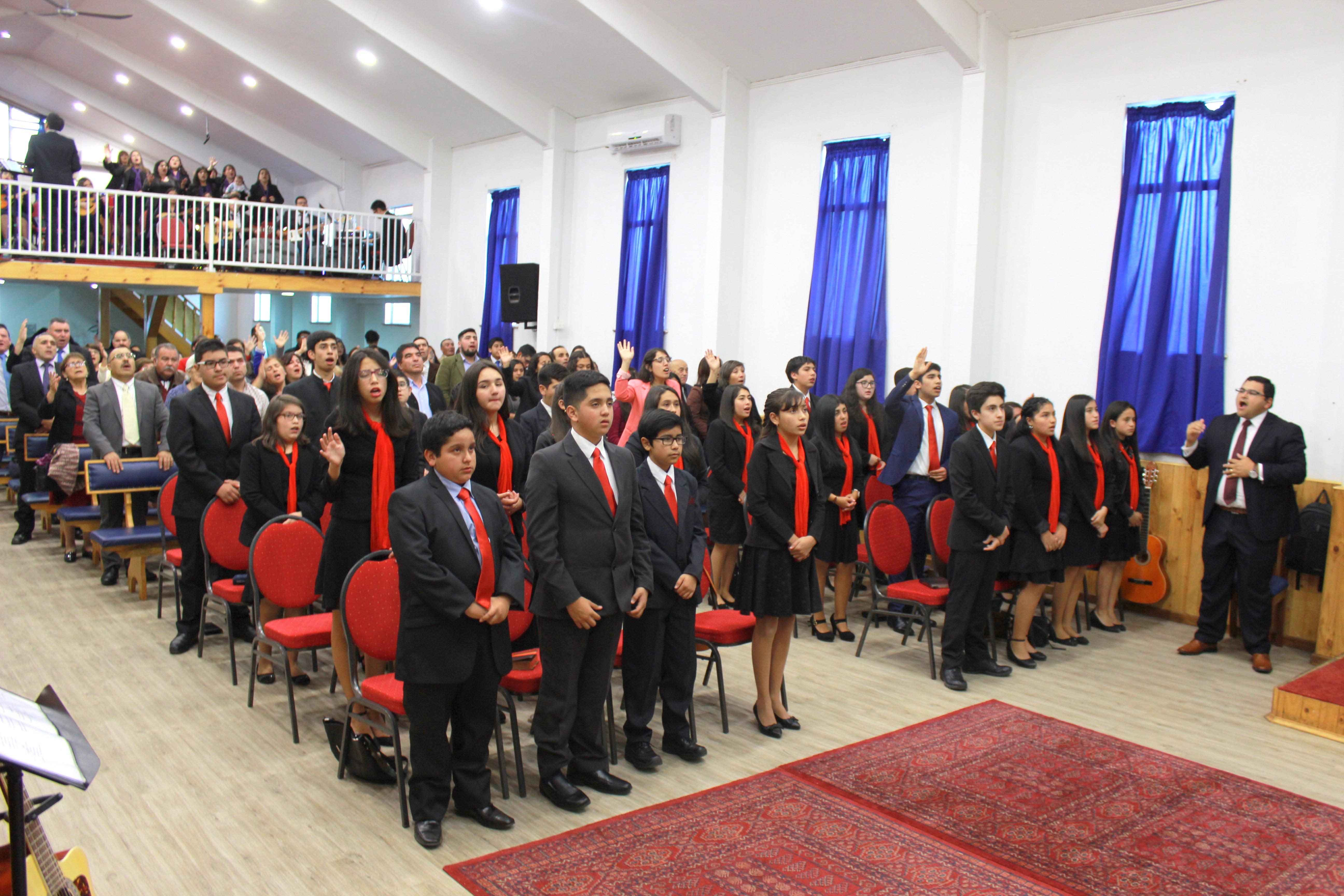 Recepción de niños como miembros de la Iglesia en IMPCH Tomé