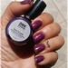 Atena (Hits) Carimbado com Dark Purple (DRKnails)
