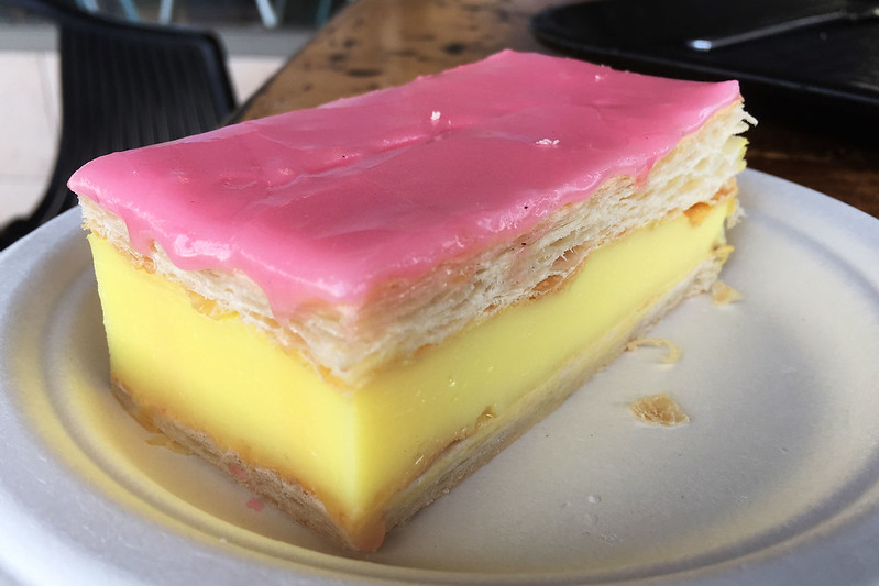 Vanilla slice, Ryan's Bakery & Coffee Lounge