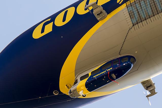 141/365  Goodyear Tire & Rubber Co Zeppelin NT 07-101  Wingfoot Two N2A
