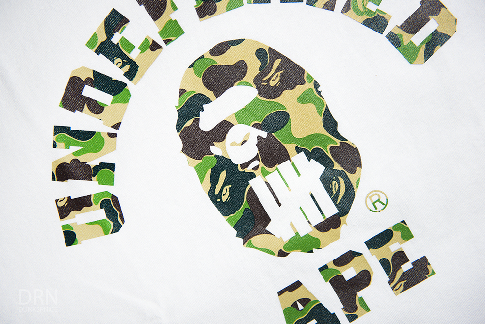 Bape x Undefeated.