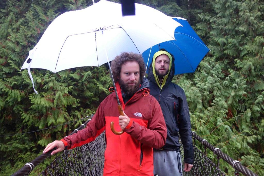 Pluie Vancouver Foret