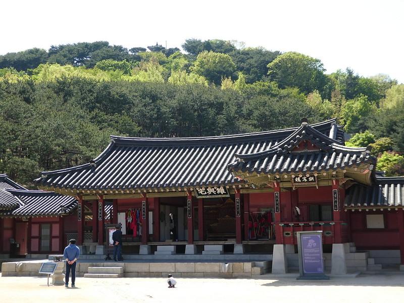 Haenggung Palace, Suwon, Korea