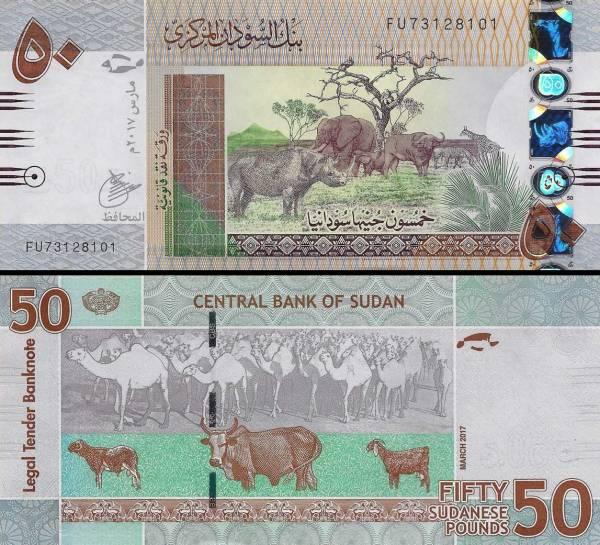 50 Libier Sudán 2017, P75d