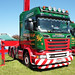 Lawsons Haulage Scania R580 PX66KLN Peterborough Truckfest 2018
