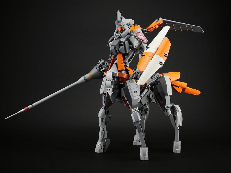 knight lego moc