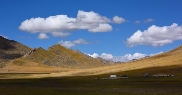 Nomads Landscape, Tibet 2017