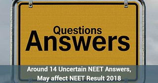 14 Uncertain NEET Answers