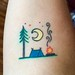 My Tattoos - Camping Scene