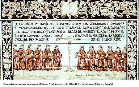Doce franciscanos