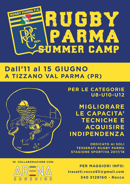 Rugby Parma Summer Camp