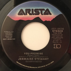 JERMAINE STEWART:SAY IT AGAIN(LABEL SIDE-B)