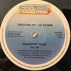 RAINBOW TEAM:TELL ME(LABEL SIDE-A)
