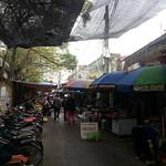 Ride through Hai Phong - Market where Mrs. Cong works