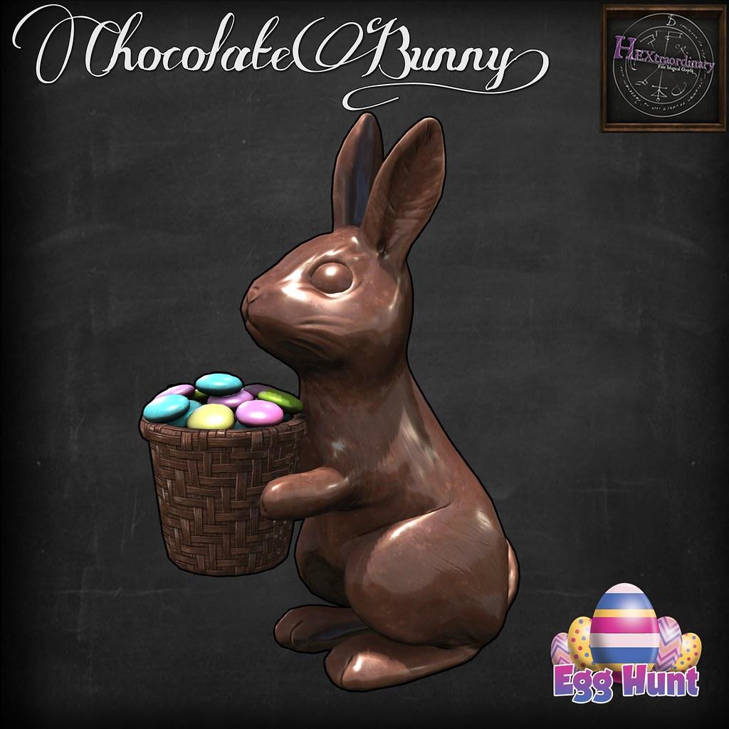 Chocolate Bunny! - TeleportHub.com Live!