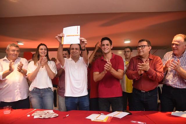 Filiação e lançamento da pré-candidatura de Fábio Dantas ao governo do RN - 17/3/2018