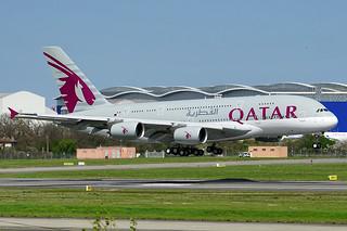 Qatar Airways' 10th (and final) Airbus A380-800