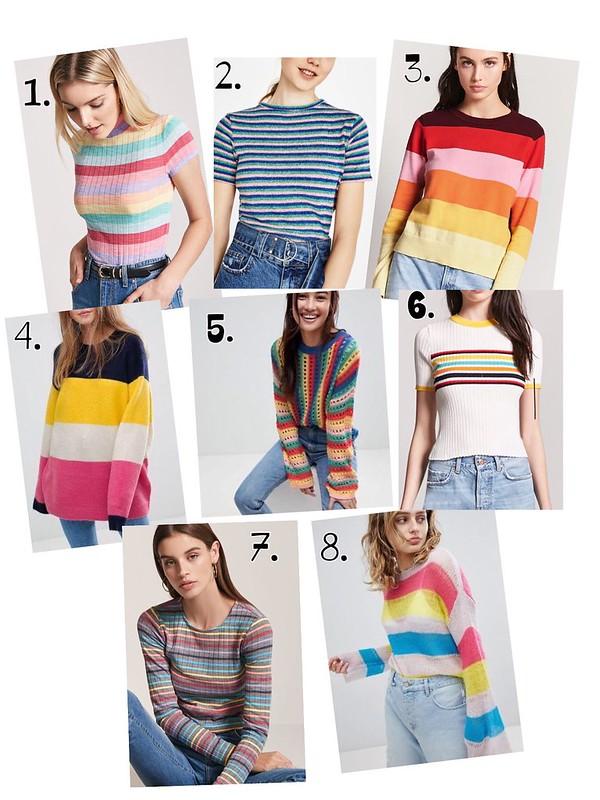 Rayas multicolores