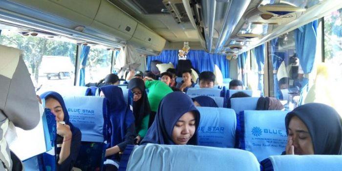 Ratusan Pelajar SMAN 9 Tangerang Ada di Goa Pindul Yogyakarta, Ada Apa Disana ?