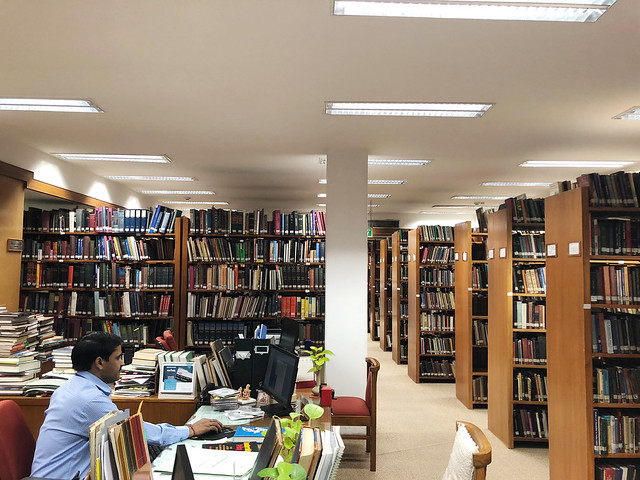 City Landmark - Scholar's Cubicle, India International Centre