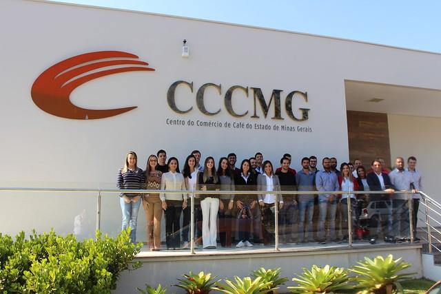 Formatura do 21º Curso de Classificação e Degustação de Café do CCCMG