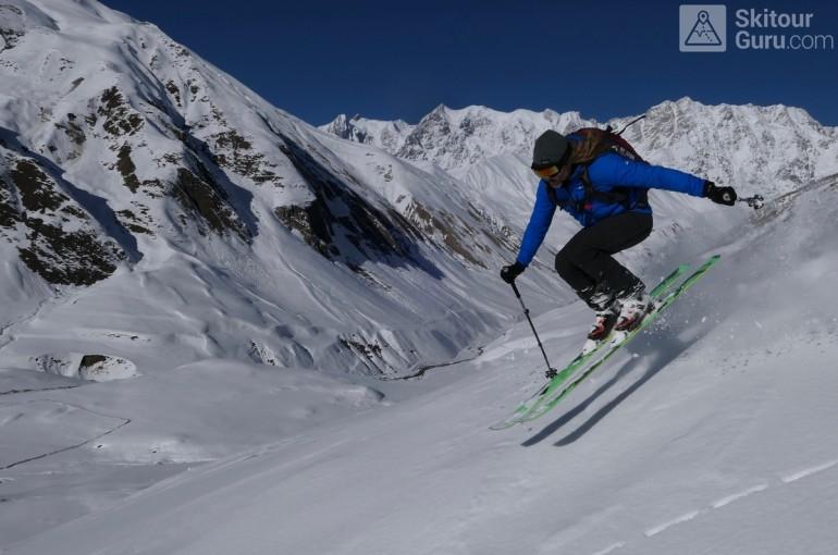 Skitouring pod kavkazskými obry