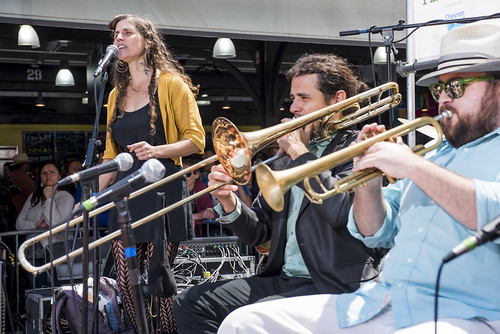 Smoking Time Jazz Club perform during French Quarter Fest 2018 on April 15, 2017. Photo by Ryan Hodgson-Rigsbee RHRphoto.com