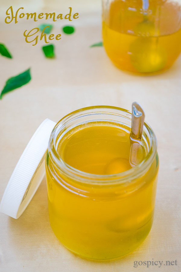 Homemade Ghee Recipe by GoSpicy.net
