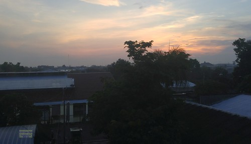 asia asean seasia indonesia indonesian java javanese eastjava jawatimur tulungagung morning hotel tree building canadagood 2017 thisdecade color colour cameraphone