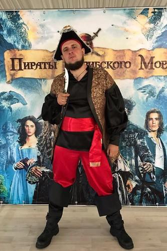 Мужской карнавальный костюм Джек Воробей