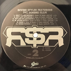 DIVINE STYLER:WORD POWER(LABEL SIDE-B)