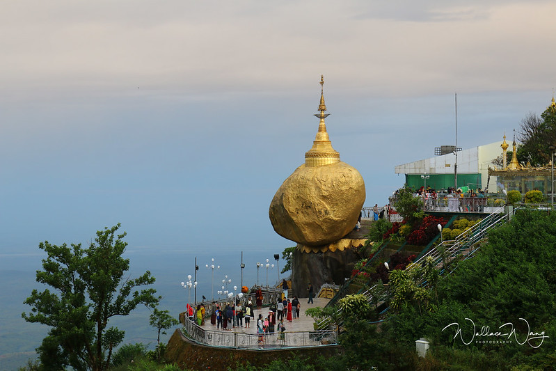 緬甸大金石山頂酒店