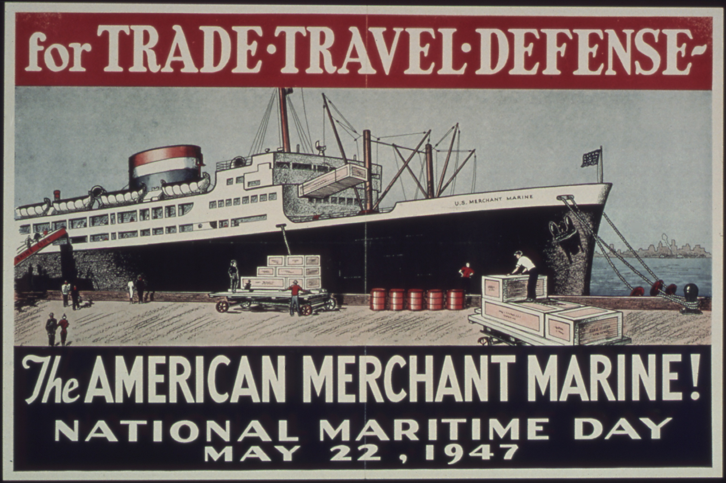 National Maritime Day, 1947