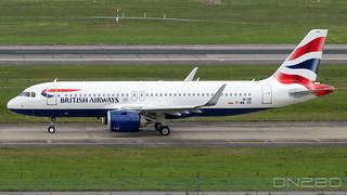 Britiish Airways A320-251N msn  8139