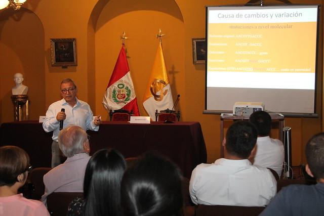 """Investigadores de la Facultad de Medicina Humana de la USMP realizaron la conferencia  """"El legado genético de la familia imperial Inca"""""""
