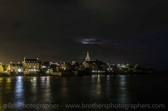 Roscoff Night Photography - France by Brothers Photographers